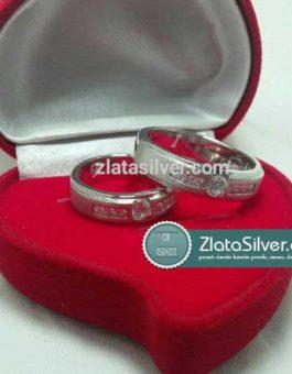 Model Cincin Kawin Perak Emas Palladium Rafifah