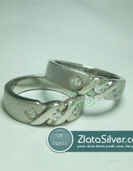Cincin Kawin Perak Tiffany