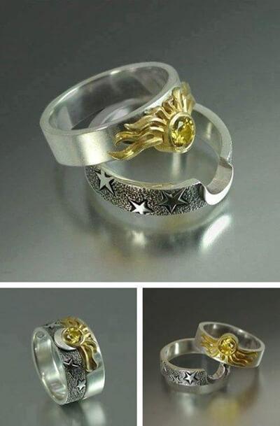 cincin pernikahan unik elegant