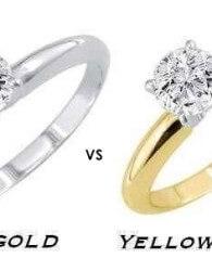 perbedaan emas kuning dan putih