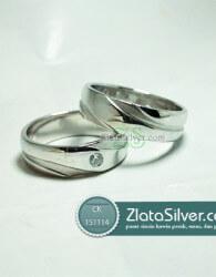 Cincin Kawin Perak Simplicio