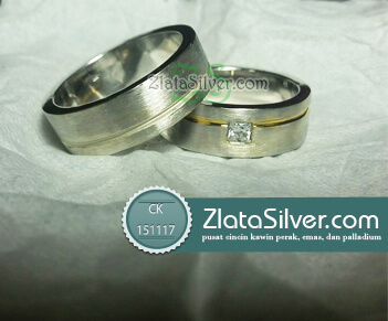 Cincin Kawin Perak Sasmaya