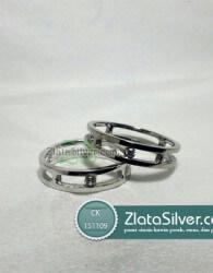 Cincin Kawin Perak Shaina Silver