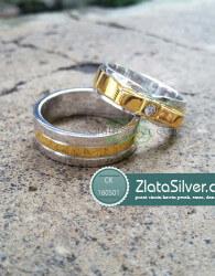 Model Cincin Kawin Perak Emas Palladium Garnetta