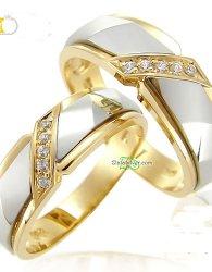 Model Cincin Kawin Cahyani Terbaru Perak Emas Palladium